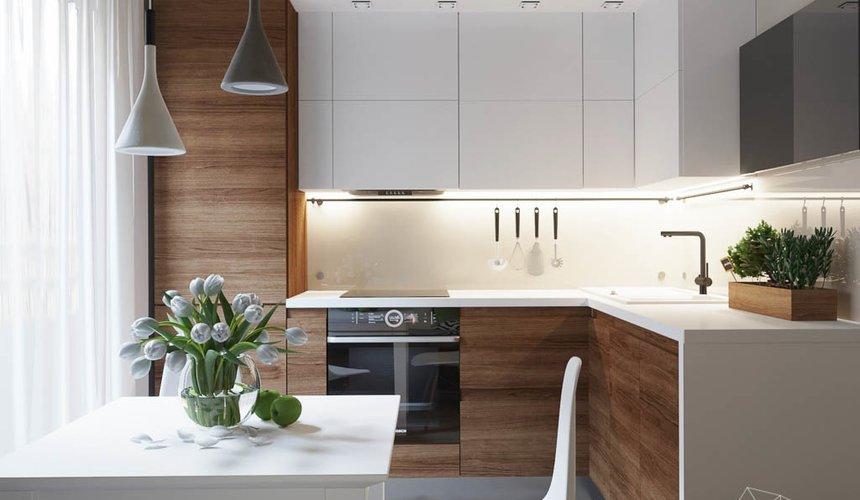 Дизайн интерьера двухкомнатной квартиры в ЖК Расточная 3