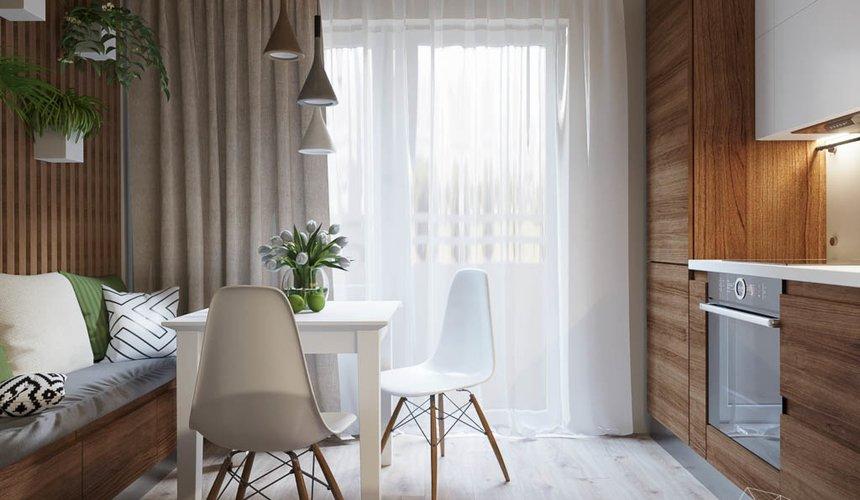 Дизайн интерьера двухкомнатной квартиры в ЖК Расточная 4