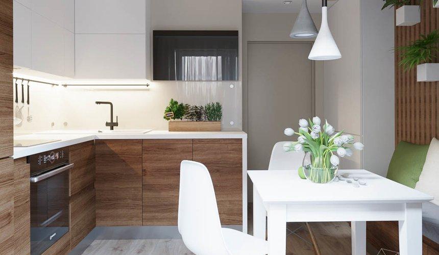 Дизайн интерьера двухкомнатной квартиры в ЖК Расточная 5