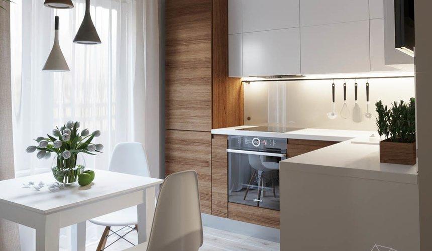 Дизайн интерьера двухкомнатной квартиры в ЖК Расточная 6