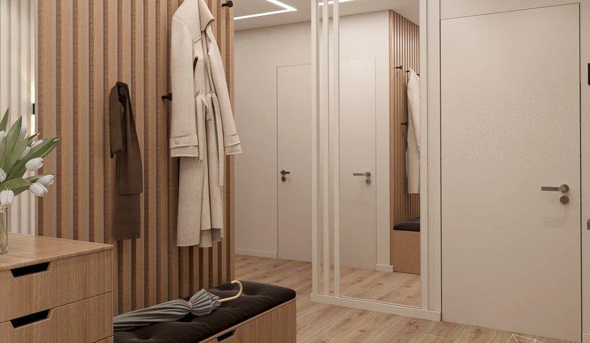 Дизайн интерьера двухкомнатной квартиры в ЖК Расточная 11