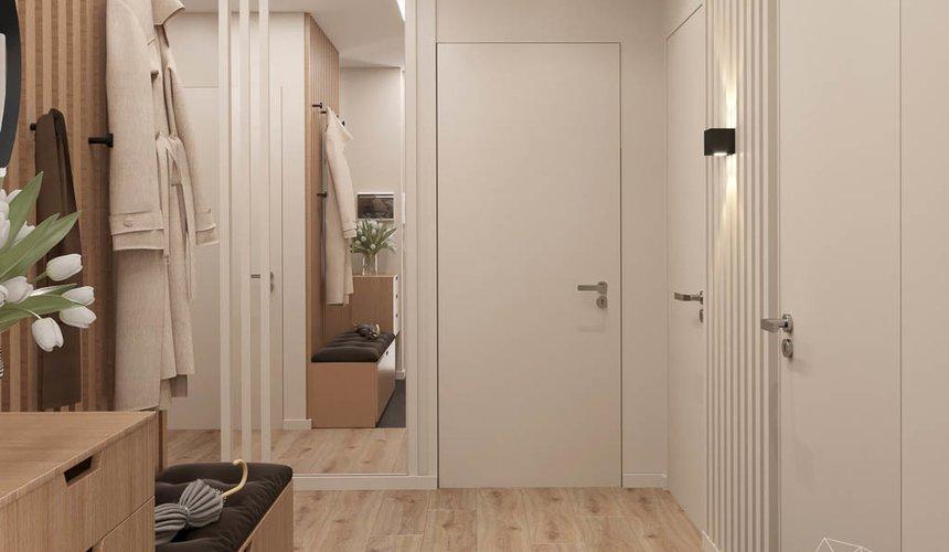 Дизайн интерьера двухкомнатной квартиры в ЖК Расточная 9