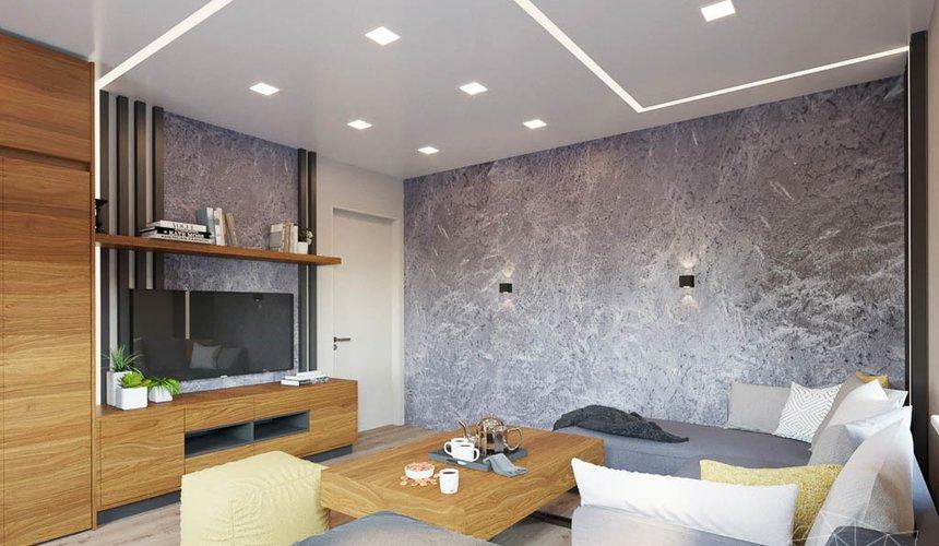 Дизайн интерьера двухкомнатной квартиры в ЖК Расточная 15