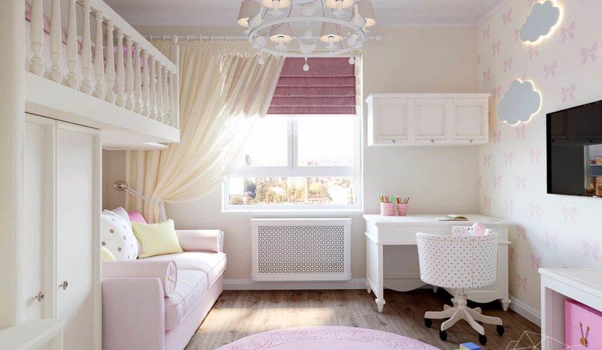 Дизайн интерьера двухкомнатной квартиры в ЖК Расточная 22