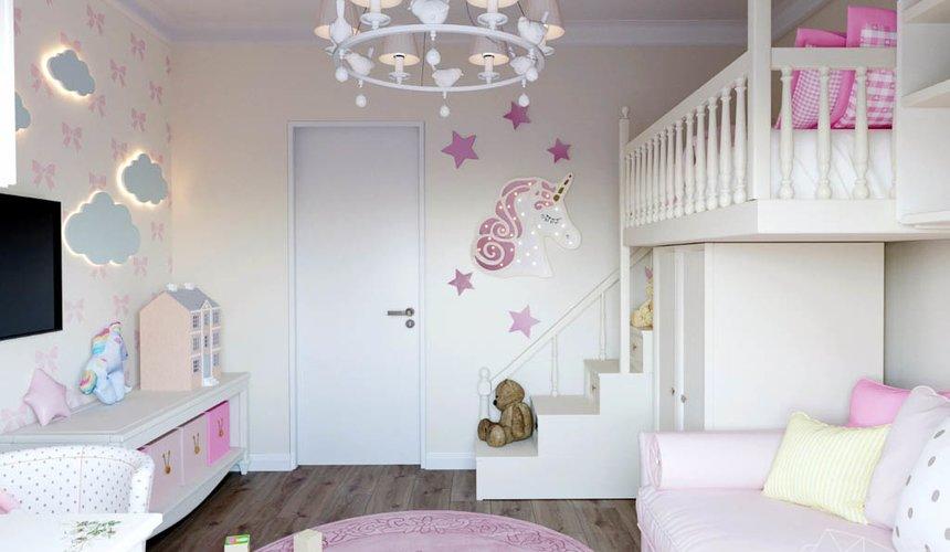 Дизайн интерьера двухкомнатной квартиры в ЖК Расточная 23