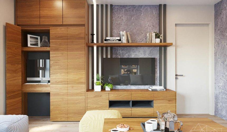 Дизайн интерьера двухкомнатной квартиры в ЖК Расточная 16