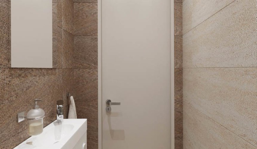 Дизайн интерьера двухкомнатной квартиры в ЖК Расточная 12