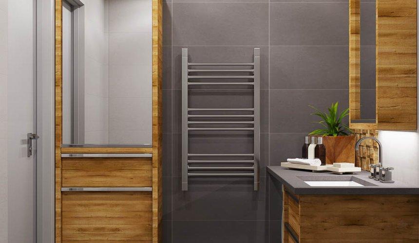 Дизайн интерьера двухкомнатной квартиры в ЖК Расточная 26
