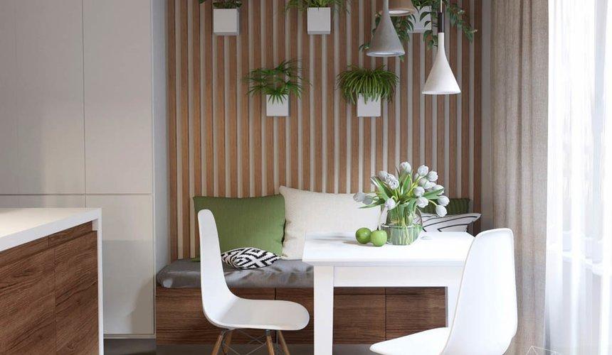 Дизайн интерьера двухкомнатной квартиры в ЖК Расточная 7