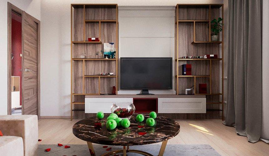 Дизайн интерьера однокомнатной квартиры по ул. Металлургов 14 4