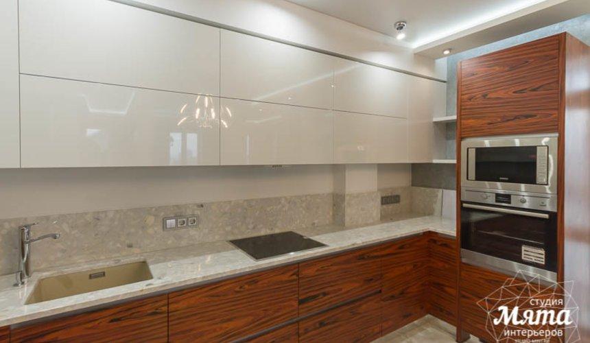 Дизайн интерьера и ремонт трехкомнатной квартиры по ул. Татищева 49 18