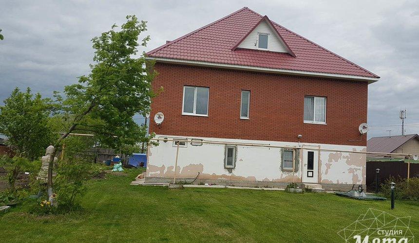 Дизайн фасада дома 532 м2 и бани 152 м2 г. Арамиль 5