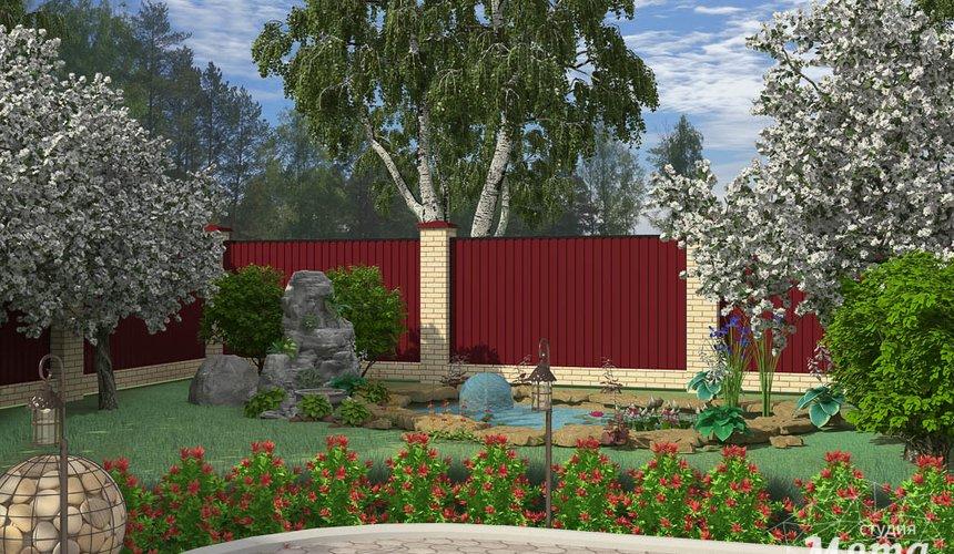 Дизайн фасада дома 532 м2 и бани 152 м2 г. Арамиль 16