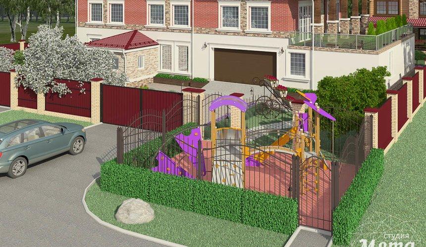 Дизайн фасада дома 532 м2 и бани 152 м2 г. Арамиль 17