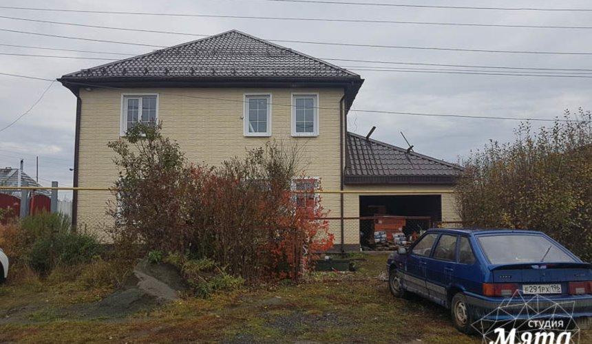 Дизайн фасада коттеджа 200 м2 в г. Тюмень 4