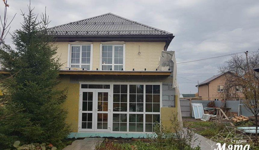 Дизайн фасада коттеджа 200 м2 в г. Тюмень 6