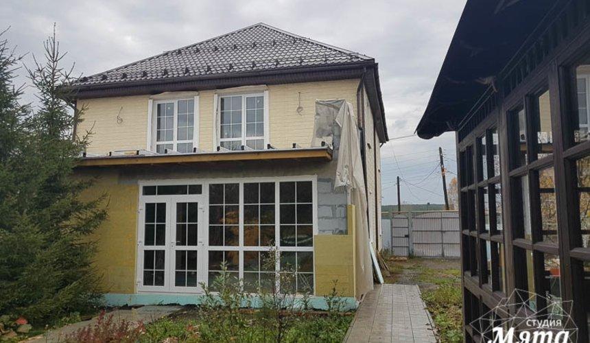 Дизайн фасада коттеджа 200 м2 в г. Тюмень 7