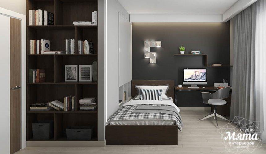Дизайн интерьера двухкомнатной квартиры в ЖК Первый Николаевский 6