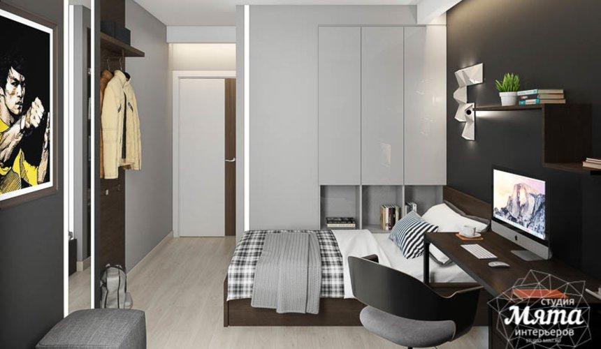 Дизайн интерьера двухкомнатной квартиры в ЖК Первый Николаевский 7