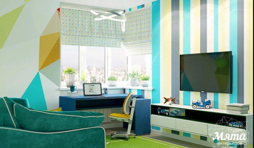 Дизайн интерьера четырехкомнатной квартиры по ул. Блюхера 41 24