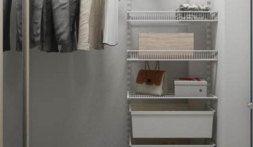 Дизайн интерьера двухкомнатной квартиры в ЖК Первый Николаевский 25
