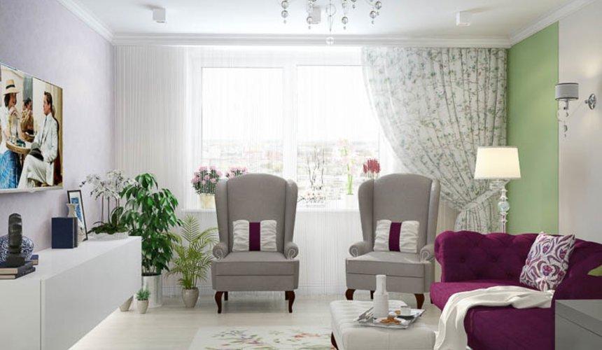Дизайн интерьера четырехкомнатной квартиры по ул. Блюхера 41 2