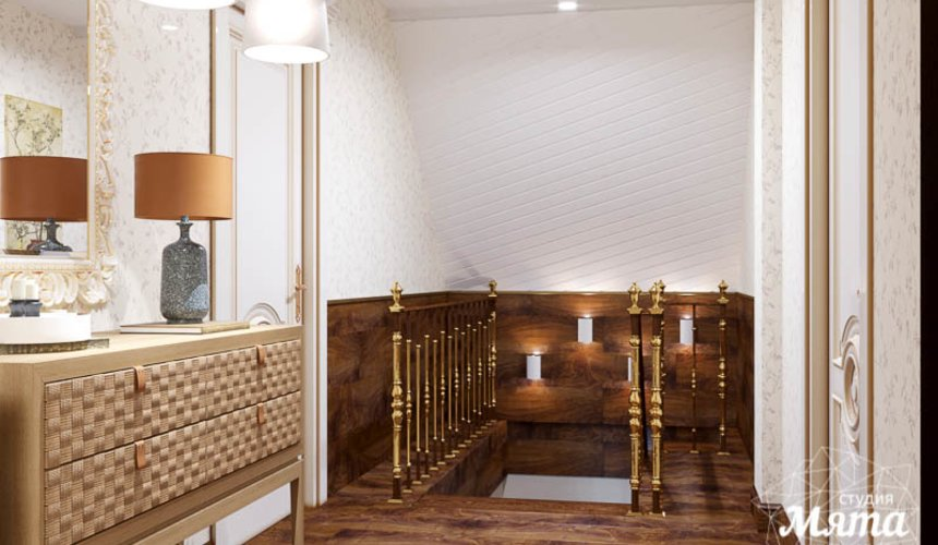 Дизайн интерьера коттеджа в г. Асбест 24