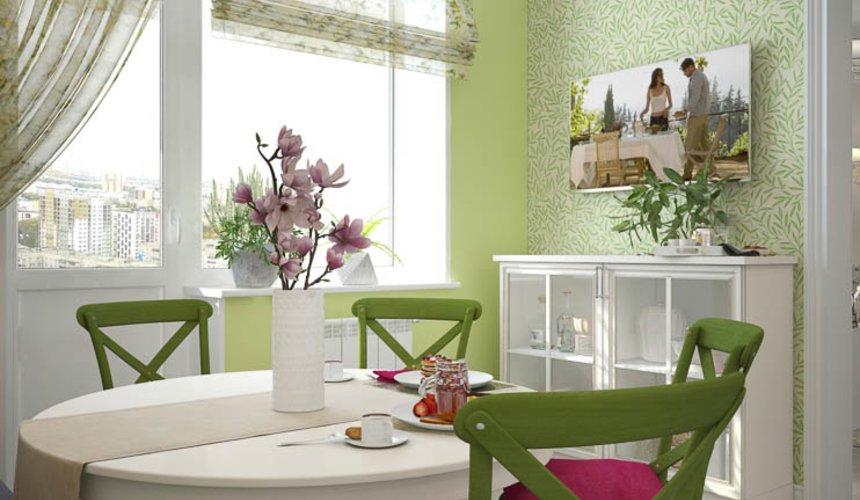 Дизайн интерьера четырехкомнатной квартиры по ул. Блюхера 41 10