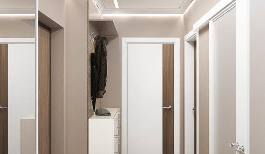 Дизайн интерьера двухкомнатной квартиры в ЖК Первый Николаевский 10