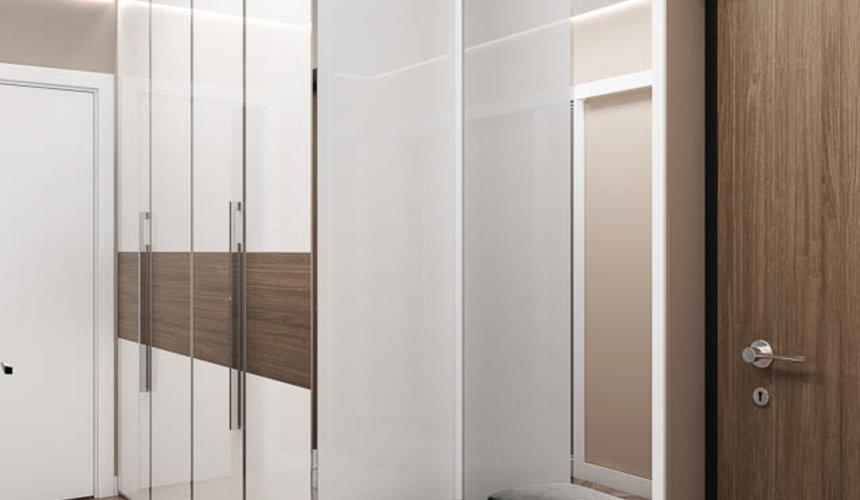 Дизайн интерьера двухкомнатной квартиры в ЖК Первый Николаевский 11
