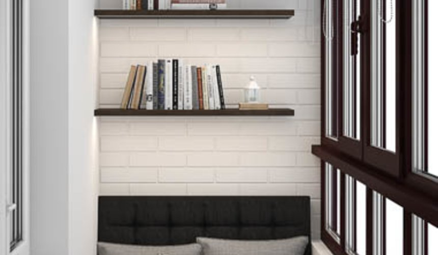 Дизайн интерьера двухкомнатной квартиры в ЖК Первый Николаевский 13