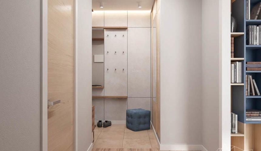 Дизайн интерьера двухкомнатной квартиры в ЖК Солнечный 9
