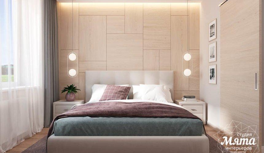 Дизайн интерьера двухкомнатной квартиры в ЖК Солнечный 13