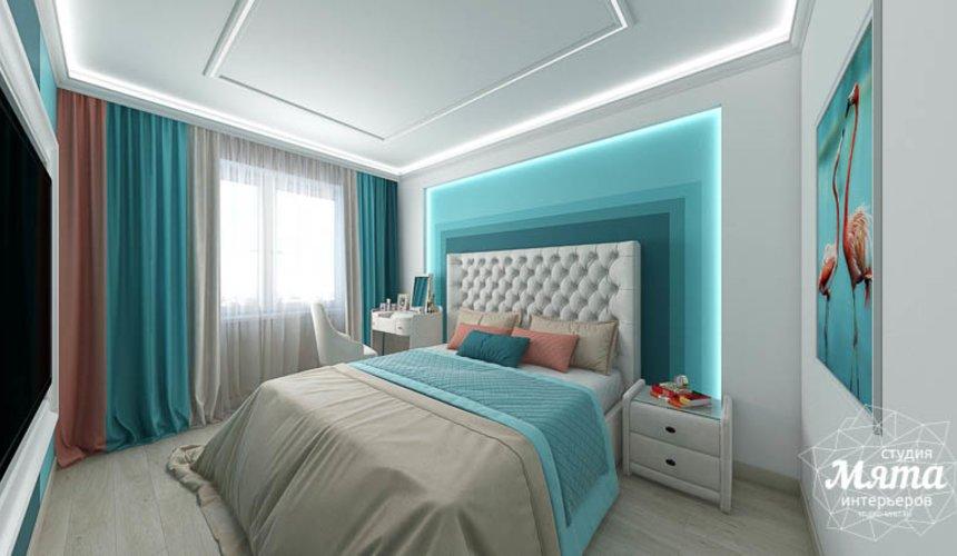 Дизайн интерьера двухкомнатной квартиры в ЖК Первый Николаевский 17