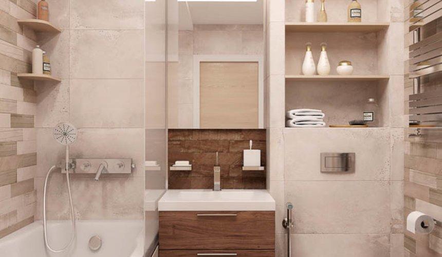 Дизайн интерьера двухкомнатной квартиры в ЖК Солнечный 15