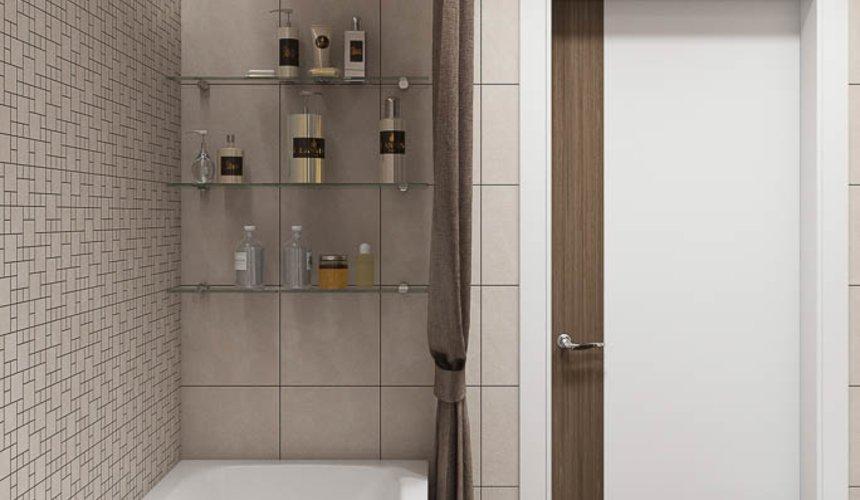 Дизайн интерьера двухкомнатной квартиры в ЖК Первый Николаевский 22