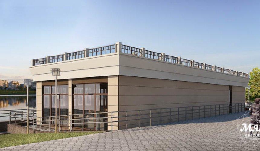 Дизайн фасада кафе 180 м2 на набережной г. Краснотурьинск 4