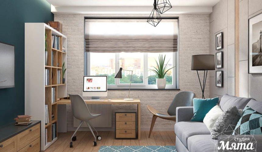 Дизайн интерьера четырехкомнатной квартиры по ул. Блюхера 45 7