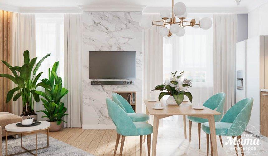 Дизайн интерьера четырехкомнатной квартиры по ул. Блюхера 45 4