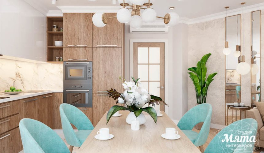 Дизайн интерьера четырехкомнатной квартиры по ул. Блюхера 45 6