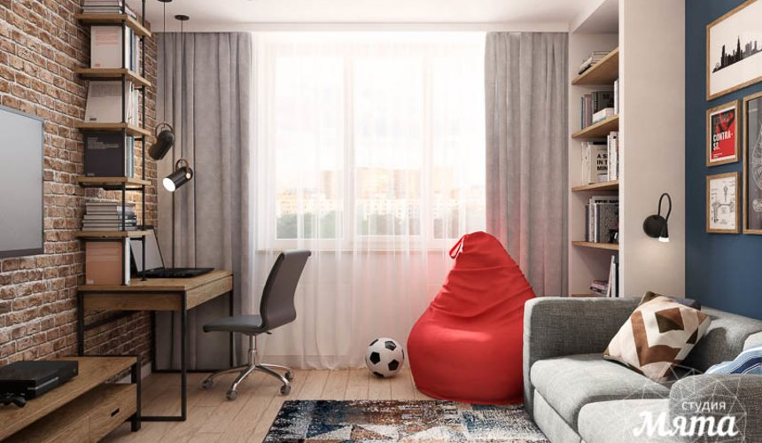 Дизайн интерьера четырехкомнатной квартиры по ул. Блюхера 45 19