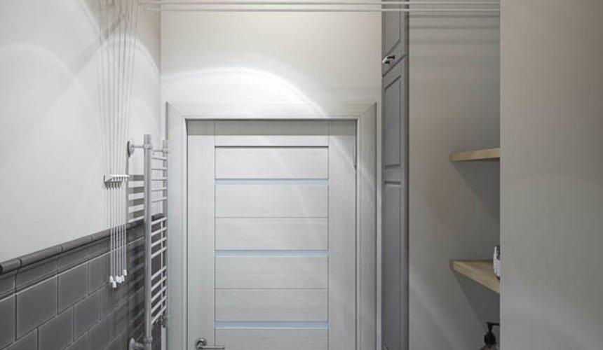 Дизайн интерьера прачечной комнаты квартиры в ЖК Менделеев 4