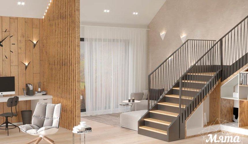 Дизайн интерьера гостиной в коттедже в г. Алапаевск 3