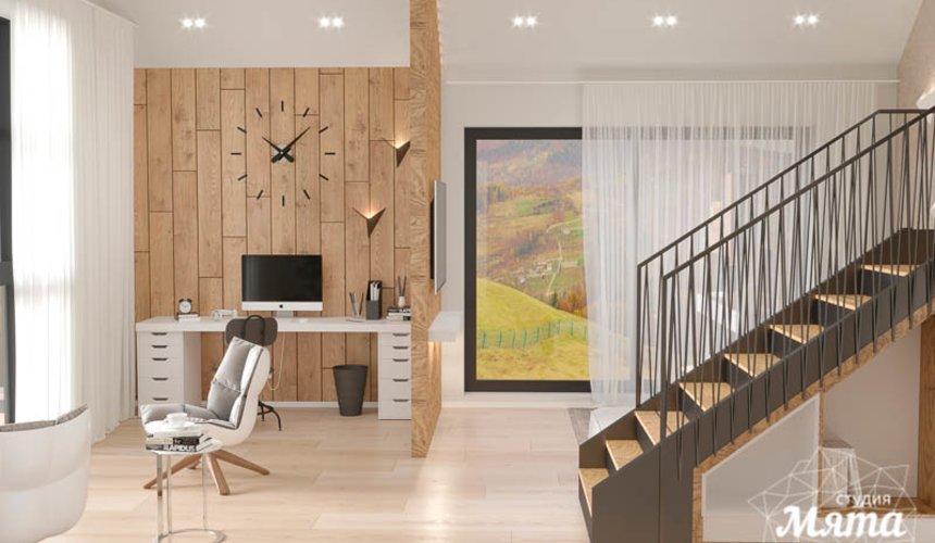 Дизайн интерьера гостиной в коттедже в г. Алапаевск 5