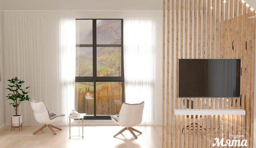 Дизайн интерьера гостиной в коттедже в г. Алапаевск 6