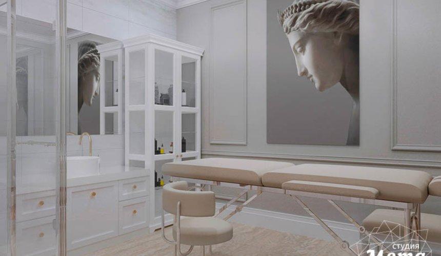 Дизайн интерьера и ремонт салона красоты в ЖК Флагман 4