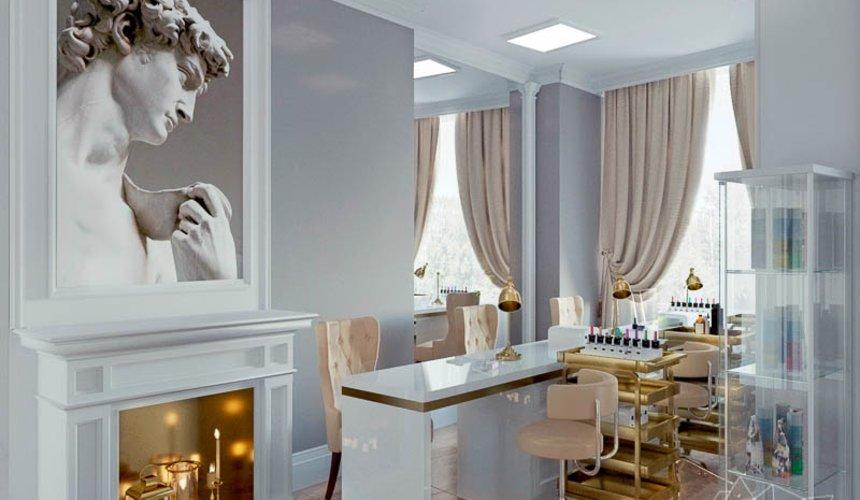 Дизайн интерьера и ремонт салона красоты в ЖК Флагман 8