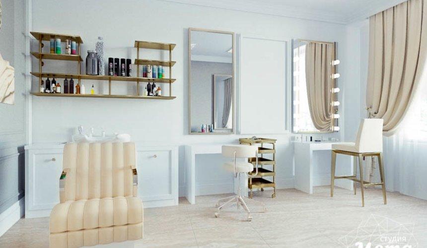 Дизайн интерьера и ремонт салона красоты в ЖК Флагман 9