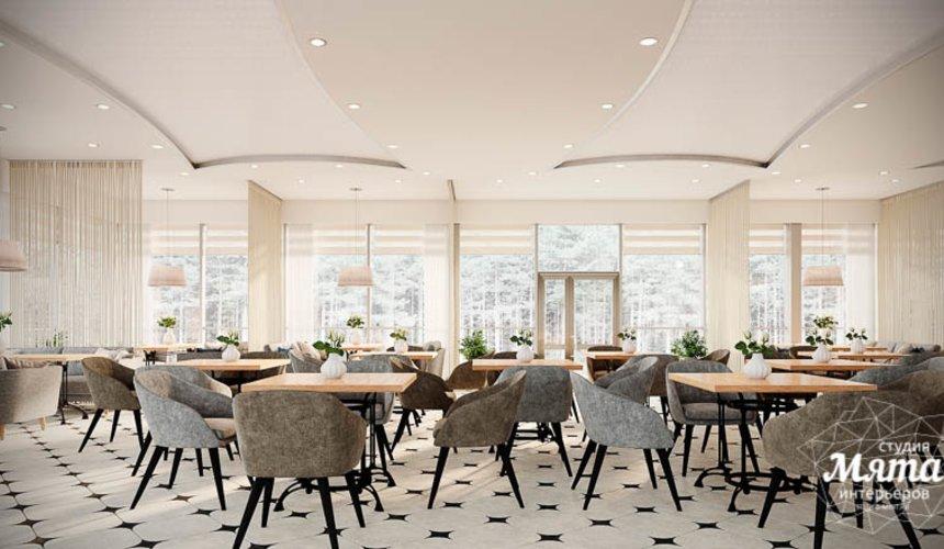 Дизайн интерьера ресторана термального комплекса Акварель г. Туринск 3