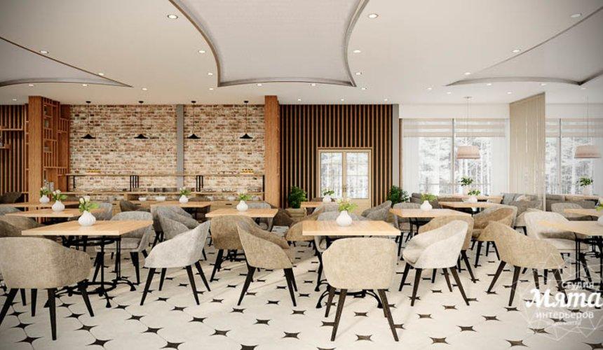 Дизайн интерьера ресторана термального комплекса Акварель г. Туринск 4